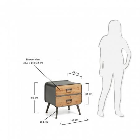 RAMA bočný stolík