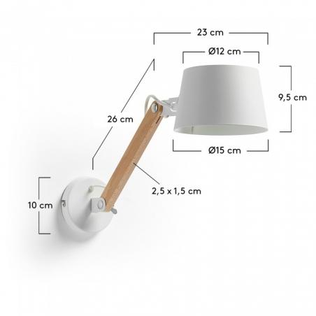 MOVE WHITE lampa