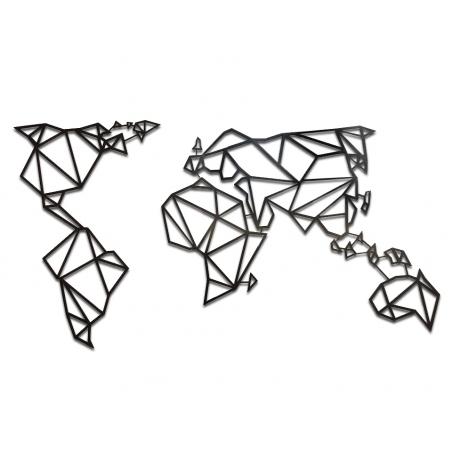 WORLD MAP dekorácia