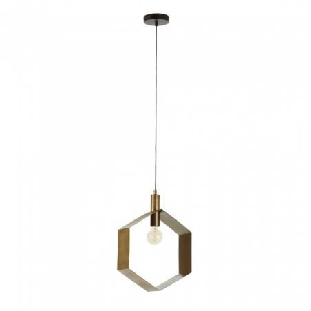 VISH HEX BRASS lampa