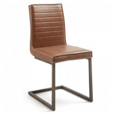 REBRO stolička svetlohnedá