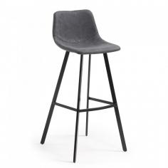 MENDY 80 BAR stolička grafitová