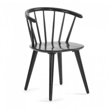 KLAS stolička čierna
