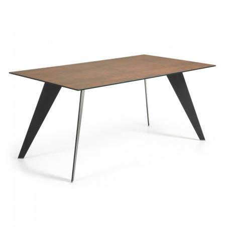 DIAGON B LIGHT IRON stôl 160
