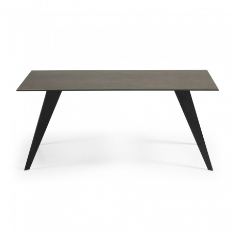 DIAGON B DARK IRON stôl 160