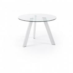 CAMP stôl biely 110