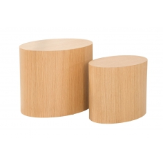 DIVISION set 2 stolíkov