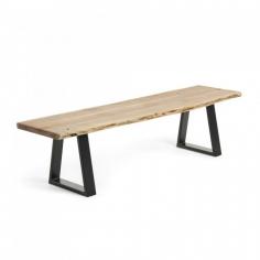 ALIALA 178 lavica z agátového dreva