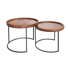AKAZIE set stolíkov