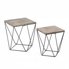 NEJA sada dizajnových stolíkov
