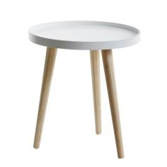 OTTO B  WHITE stolík