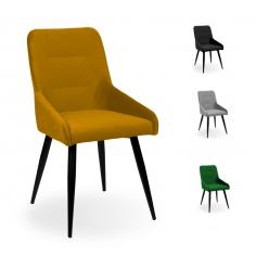 BASMA BLACK stolička