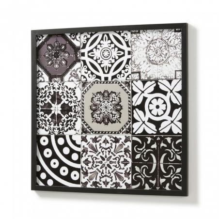 BLACK AND WHITE nástenný obraz