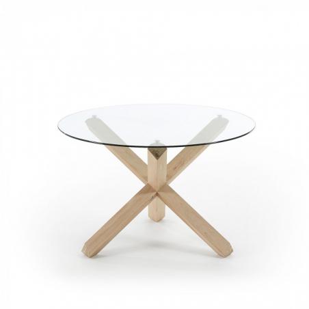 ARENDAL GLASS Ø 120 jedálenský stôl