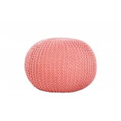 PUF pletený koral