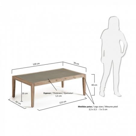 CORVETTE konferenčný stolík