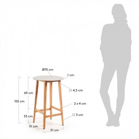 GIORGIA stôl