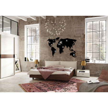 WORLD MAP 3D dekorácia - mapa sveta