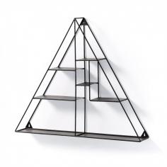 NETH trojuholník nástenná polica