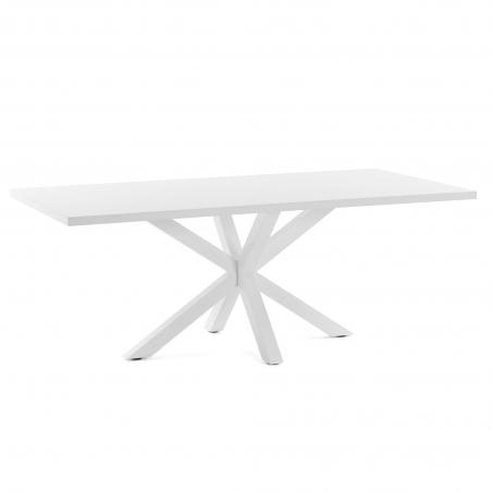 RONY WHITE LAK stôl