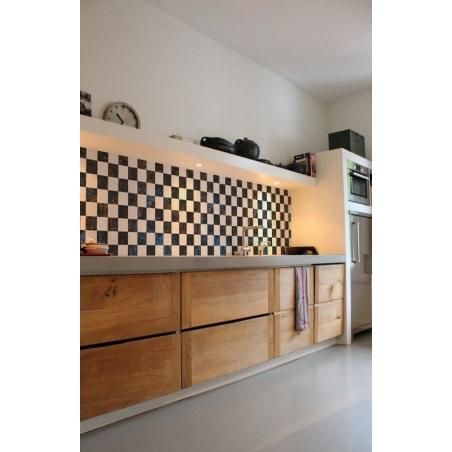 CHECKER kuchynská zástena