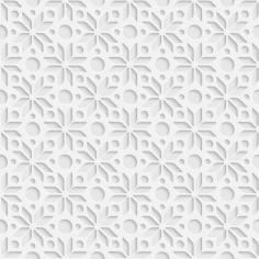 WHITE 3D kuchynská zástena