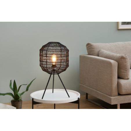 BLACK CAGE stolová lampa