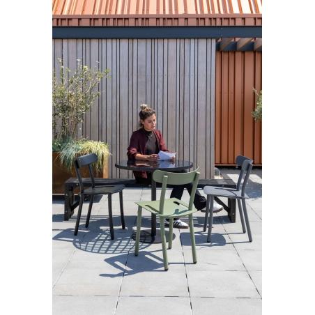 ZUIVER FRIDAY záhradna stolička