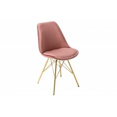 RETRO GOLD stolička
