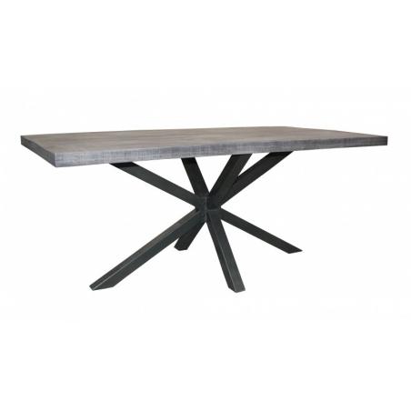 GALAXY sivý jedálenský stôl