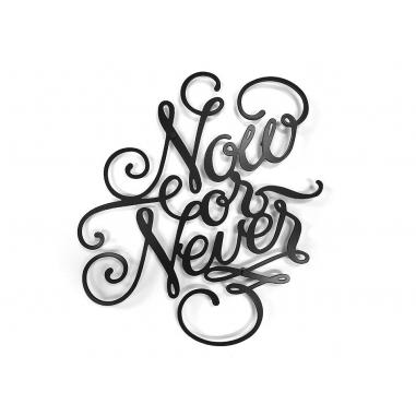 NOW or NEVER vešiak