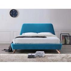SCANDI TYRKYSOVÁ posteľ