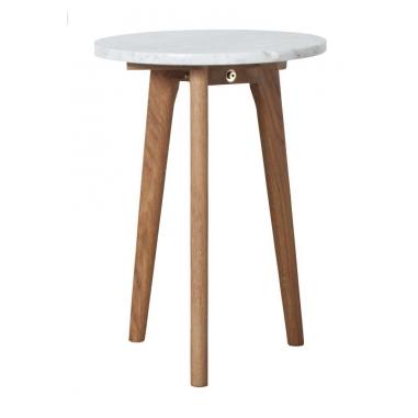 ZUIVER WHITE STONE príručný stolík