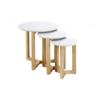 OSAKA set 3 príručných stolíkov