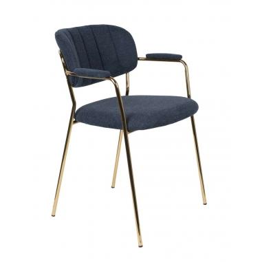 WLL JOLIEN ARMCHAIR GOLD stolička