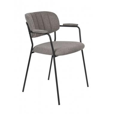 WLL JOLIEN ARMCHAIR BLACK stolička