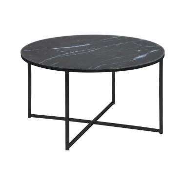 ALISMA ROUND BLACK konferenčný stolík