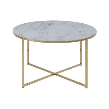ALISMA ROUND GOLD konferenčný stolík