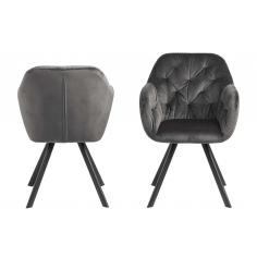LOLA BLACK stolička