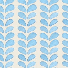 BLUE LEAVES kuchynská zástena