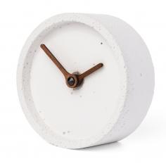 CLOCKIES CEMENT stolové hodiny