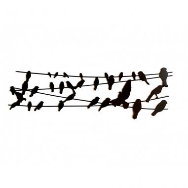 BIRD ON WIRE vešiak
