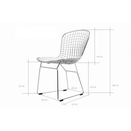 CLEAR CHAIR 80 stolička