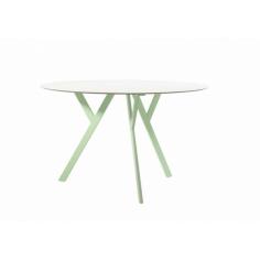 GREEN OVAL stôl
