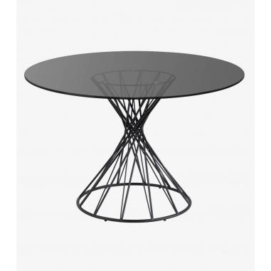 NIUT SKLO 120 jedálenský stôl