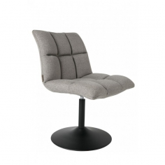 CHAIR MINI BAR GREY