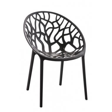 CRYSTAL RED stolička