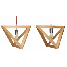TRIGON WOOD lampa
