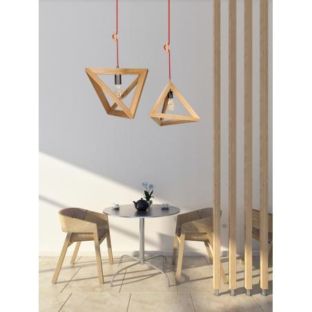 TRIGON WOOD lampa