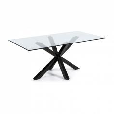 RONY BLACK GLASS stôl